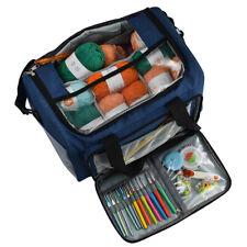 Large Yarn Storage Bag Knitting Crochet Tote Organizer Holder Portable Case
