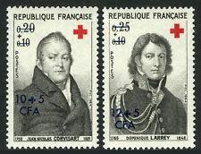Reunion B20-B21, MNH. Red Cross. Physicians: J.N.Corvisart, D.Larrey, 1964