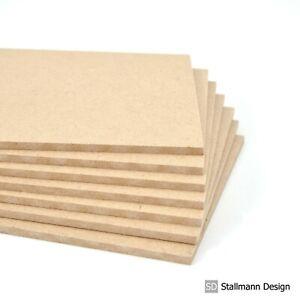 3mm Hartfaser HDF Zuschnitt Platte Holz Rückwand Basteln Heimwerken Möbel