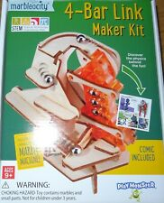 4-Bar Link Maker Kit Marbleocity Tinkineer Marble Machine Stem Ma4B100Bb