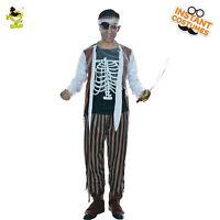 Men's High Seas Pirate costume adult halloween fancy dress  Buccaneer Costumes