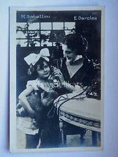 Cinema EDY DARCLEA M. SABATTINI attrice muto silent movie foto Vettori Bo 2001