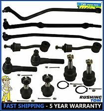 1996 - 1998 Jeep Grand Cherokee 11 Pc Set Ball Joint Tie Rod Track Sway Bar Link
