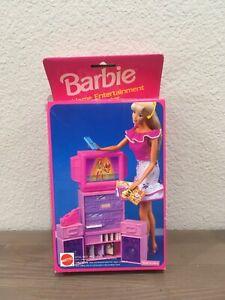 Barbie Home Entertainment Center Mattel sku# 10176515 from 1993