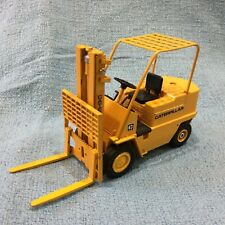Vintage Caterpillar Diecast Forklift Model by Gescha Made in West Germany