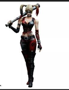 Batman Arkham City Play Arts Kai - No. 5 Harley Quinn Arkham (Square Enix) - NEW