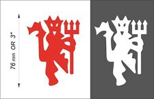 ONE Manchester United DEVIL PVC film sticker ( car window laptop etc.) #D