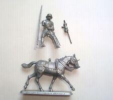 Figurine mokarex série armure du XVème siècle : Cavalier Bourguignon N°5