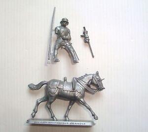 Figurine Mokarex Series Armor Of XV Century: Rider Bourguignon N°5