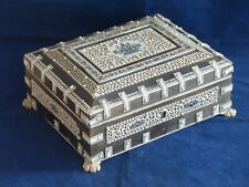 Antique 19th Century Anglo Indian Vizagapatam Casket / Box