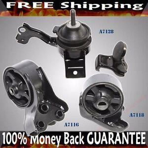 Engine Mount SET fits 01-06 Hyundai Elantra A7118 A7128 A7116