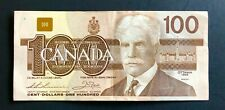 Canada 1988, $100 Dollars Bill Bird Series Banknote - VF/XF