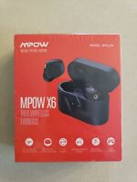 BRAND NEW Mpow X6 ANC Bluetooth Earphones, Wireless Charging, Headphones Earbuds