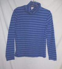 NOMADIC TRADERS Quality, Cotton/Blend Striped T-neck - Size: S