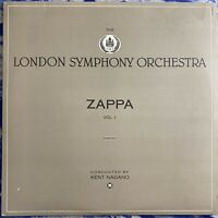 The London Symphony Orchestra – Zappa Vol. 1 : 1983 Promo Vinyl LP FW-38820 EX
