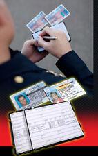 Tactical Pocket TPK Police Mini Clipboard Field Interview FI Card Organizer Case