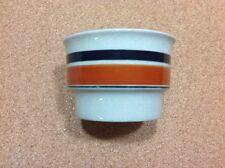 Vintage HOGANAS Keramik Randa Banda Open Sugar Bowl Stoneware Sweden MINT Rare