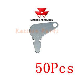 50pcs 83353 Short Hencol Key Fit Massey Ferguson John Deere case 192923M1 bobcat