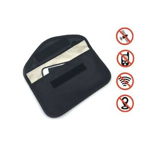 Anti-Tracking Cell Phone Case EMF RFID GPS Blocker Anti-Radiation Card Key Bag