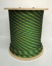 "5/16"" X 480' V-100, Green w/Yellow fleck - New England Rope"