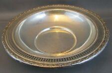 Frank M Whiting Talisman Rose Sterling Silver BON-BON Dish 96.3 grams