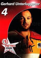 2003-04 German DEG Metro Stars Postcards #22 Gerhard Unterluggauer
