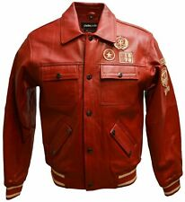 Pelle Pelle Leather Jackets for Women, Colors Red Size 16