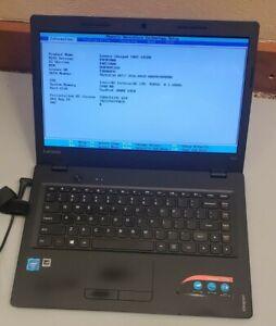 LENOVO Ideapad 100S-14IBR Intel Celeron N3050 4GB RAM 64GB SSD  WEBCAM BIOS TEST