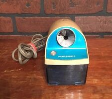 Vtg Mid Century Panasonic Blue KP-5 Electric Pencil Sharpener Matsushita Japan