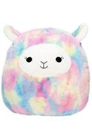 "Squishmallow Kellytoy 12"" Leslie The Rainbow Lamb Plush Doll Pillow Pet"