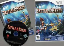 BATTLE OF THE BANDS ~NINTENDO Wii WITH BOOKLETS~  **FREE P&P**