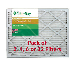 FilterBuy 18x30x1 Air Filters, Pleated Replacement for HVAC AC Furnace (MERV 11)