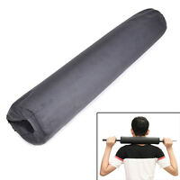 Barbell Pad Gel Support Neck Shoulder Squat Bar Weight Lifting Pull Up Grip n *