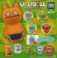 Capsule UGLYDOLL Ugly Doll soft mascot All 5 set Gashapon mascot toys