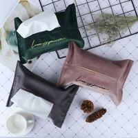 Car Tissue Box Napkin Holder Container Living Room Office Decorative Paper Ca..