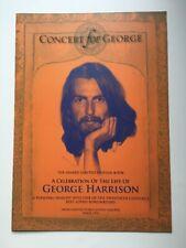 Beatles George Harrison Genesis Publications Concert Promo Flyer Orig Rare Mint