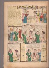 LISETTE 1939 .N°40.AU DOS JACKIE. TEXTES ET DESSINS DE GEORGES BOURDIN  BE