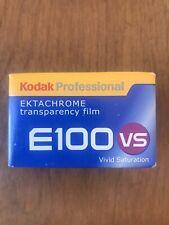 1 Roll Kodak Ektachrome E100Vs Film Transparency Vivid Saturation Exp 10/2006