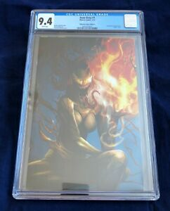 Jean Grey #1 Unknown Comics Venomized Virgin Variant C CGC 9.8 Mattina