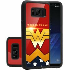 Samsung Galaxy S8 Case Wonder Woman Hard Shockproof Protective Cover PC TPU New