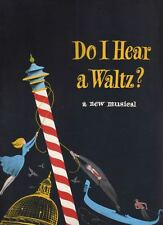 "Sondheim  ""Do I Hear A Waltz?""  Souvenir  Program  1965  OBC   Sergio Franchi"