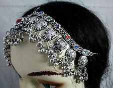 Kuchi Head Piece Belly Dance Tribal  Afghan Vintge Ethnic jewelry Gypsy ATS New
