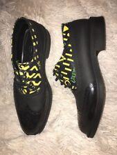 Vivienne Westwood Men Shoes Slipon Lace-up Brogue Manhole Printed Oxford EU 42
