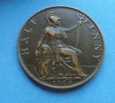 More details for 1906 edward vll, halfpenny, as shown.
