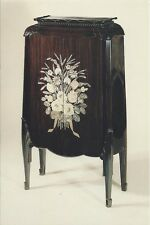 Postcard Louis Sue Andre Mare Ebony Cabinet Furniture VA Museum Fine Arts MINT