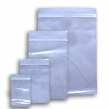 100 Ziplock Zip lock 5x8 Small Reclosable Clear Plastic Poly Bags 2 Mil 5