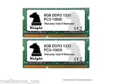 16GB KIT DDR3 1333 MHZ PC3 10600 (2X8GB) SODIMM LAPTOP MEMORY