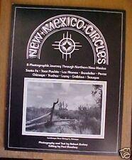 New Mexico Circles *1990 Robert Burkey Taos Photos Rare Free US Shipping