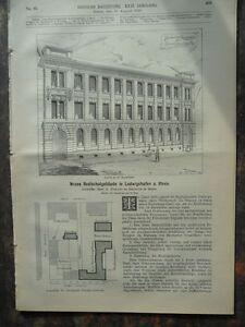 1892 Realschule Ludwigshafen Stärkefabrik Salzuflen