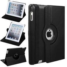 CUOIO 360 Gradi Rotazione Custodia Cover Con Wake Sleep per Apple iPad 4 iPad 2 3